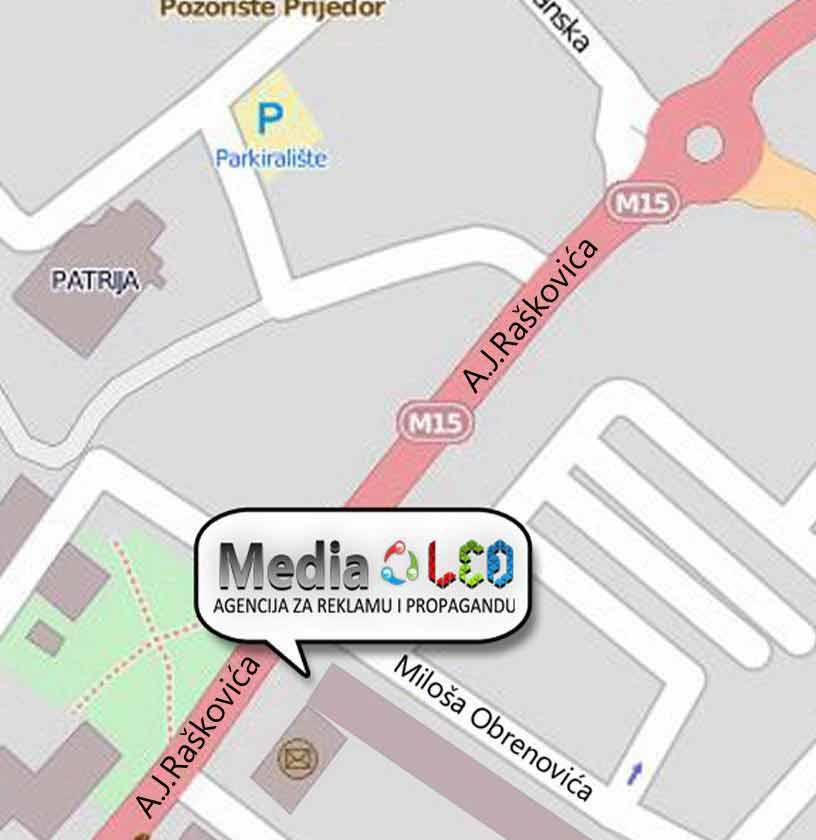 Lokacija Media Led agencije