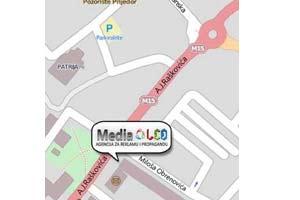 Mapa Media Led agencije